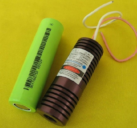 50mW~500mW 445nm Blue Laser Module Dot (Laser Head) Φ22.5*55mm